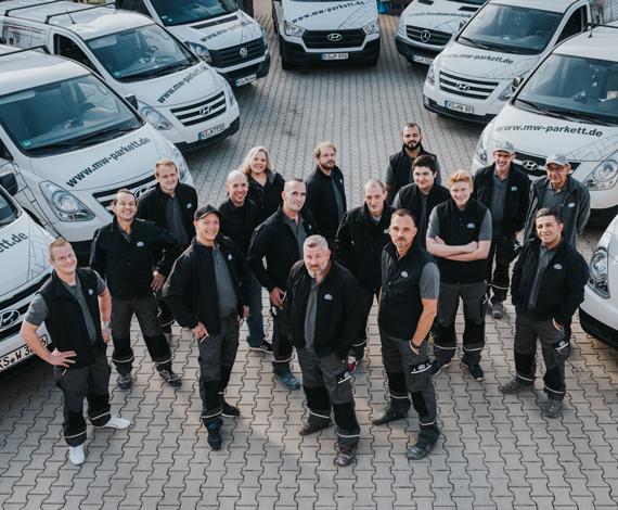 Das Team von MW Parkett Kassel