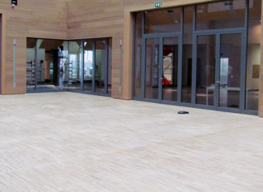 SMA – Atrium und Loungebereich