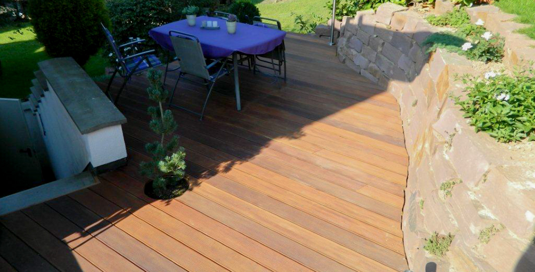 Außenbereich | Terrasse angelegt